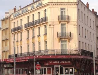 Façade - Grand hôtel du midi