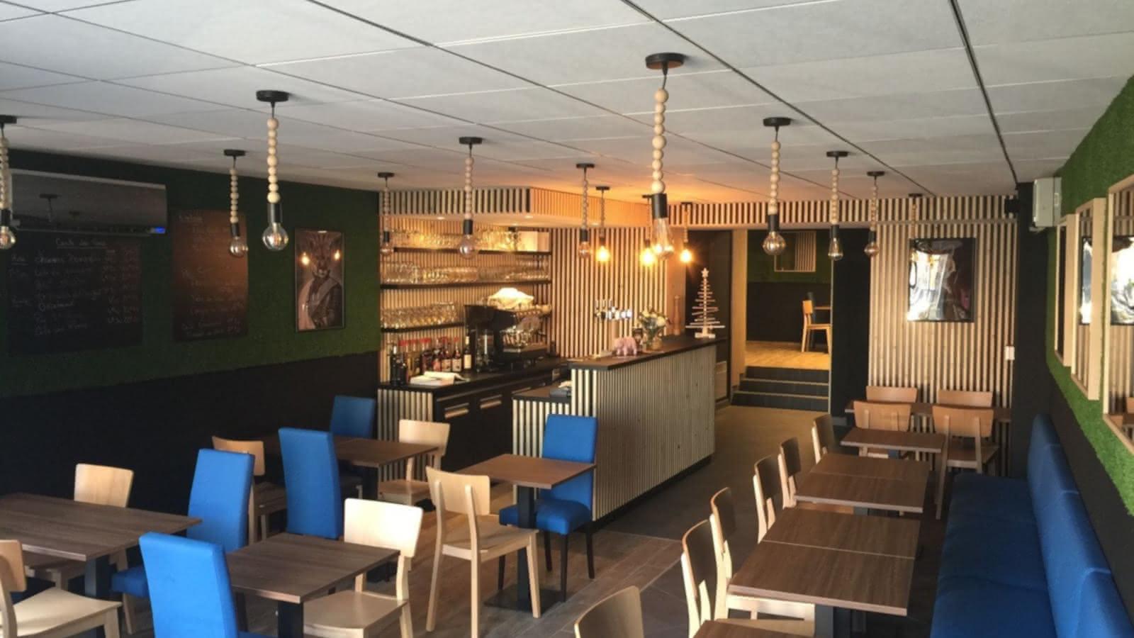 © Salle - Restaurant - La table de la Fontaine