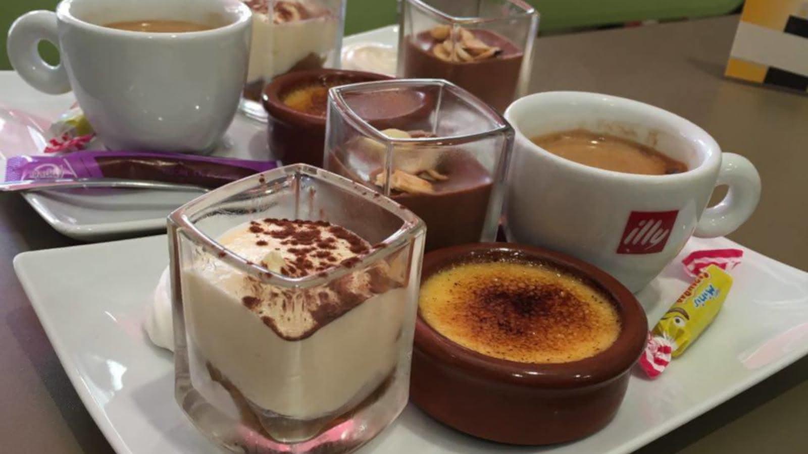 Dessert - Brasserie - Derrière