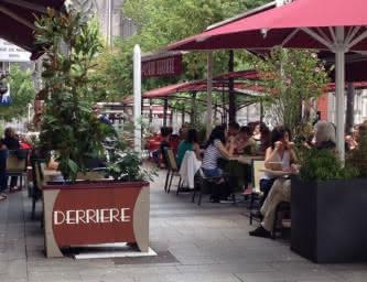 Terrasse - Brasserie - Derrière