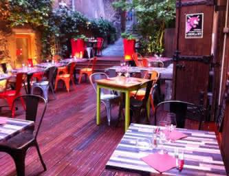 Terrasse - Restaurant - Le Boeuf Café