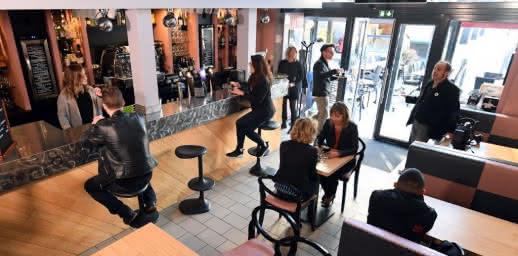 Salle - Restaurant - Le bar d'O