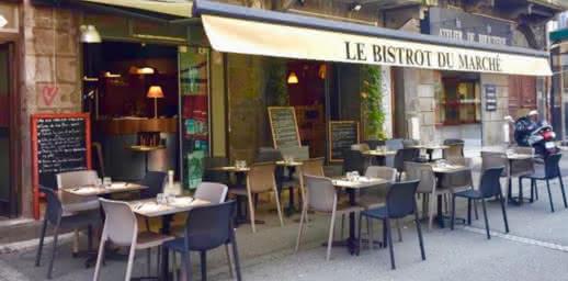 Terrasse - Restaurant - Bistrot du marché