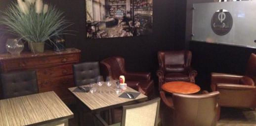 Salle - Restaurant - Le comptoir
