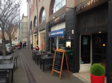Terrasse - Restaurant - Le comptoir