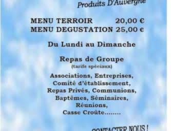 Publicité - Restaurant - La maison bleue