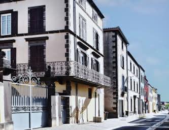 Rue du Chambon à Aubière