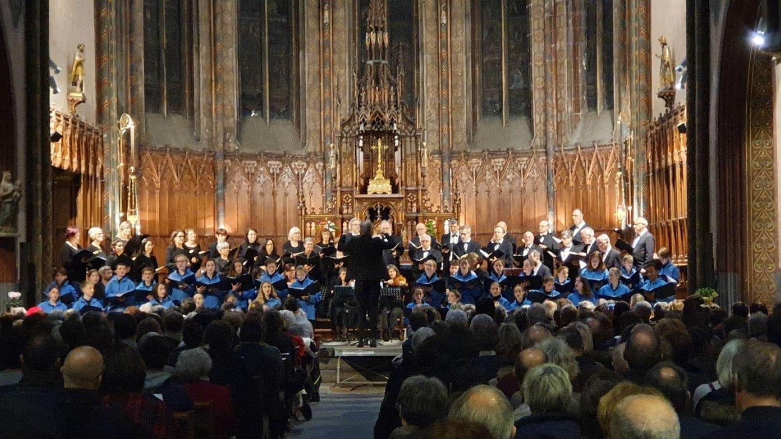 Choeur Régional d'Auvergne : Concert de Noël - Britten