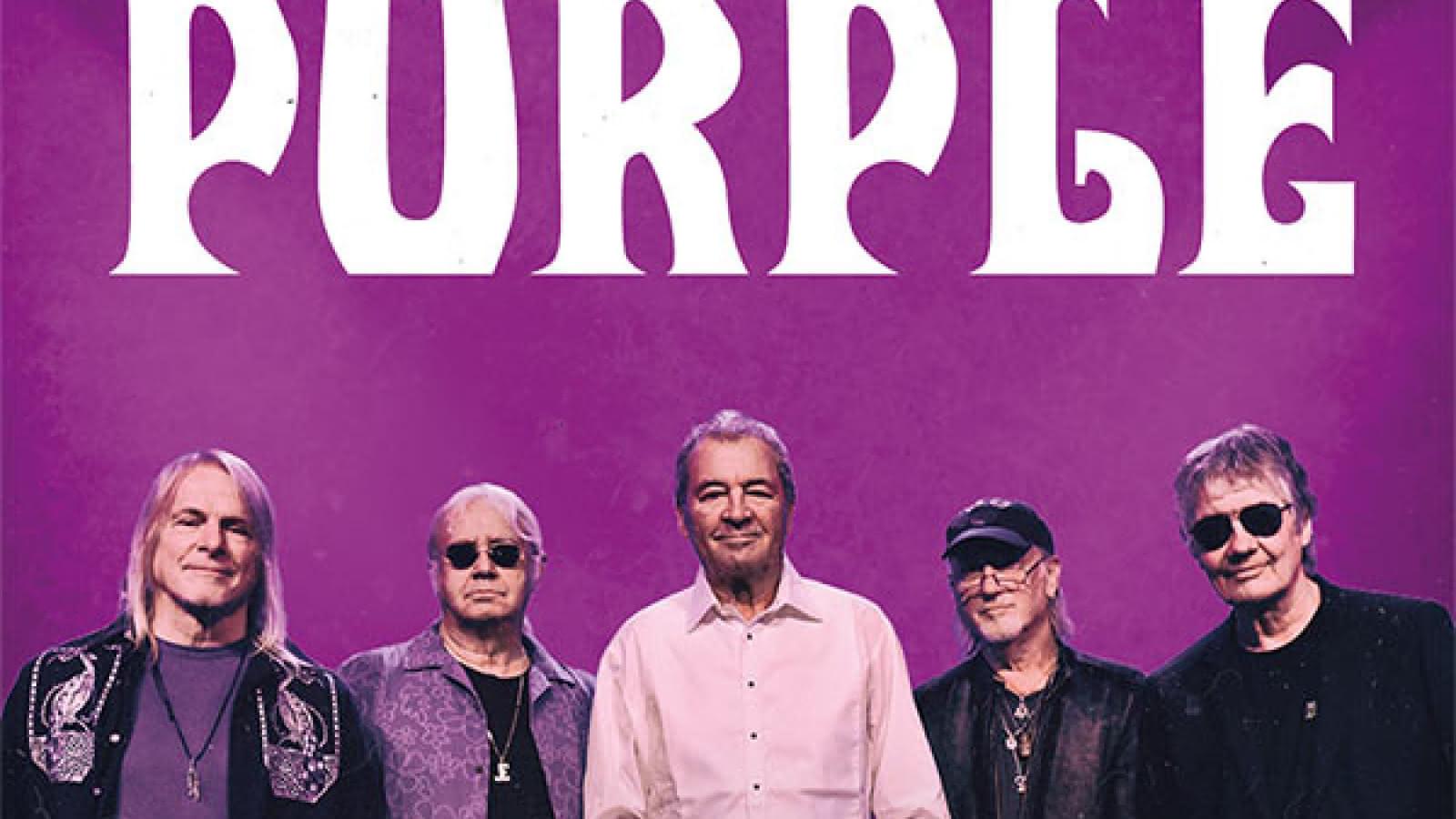 Zénith d'Auvergne : Deep purple