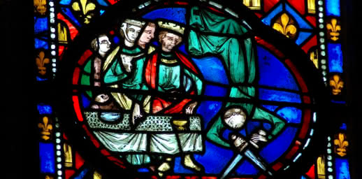 Vitrail de la Cathédrale de Clermont-Ferrand