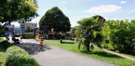 Aire de jeu - Parc de la Treille