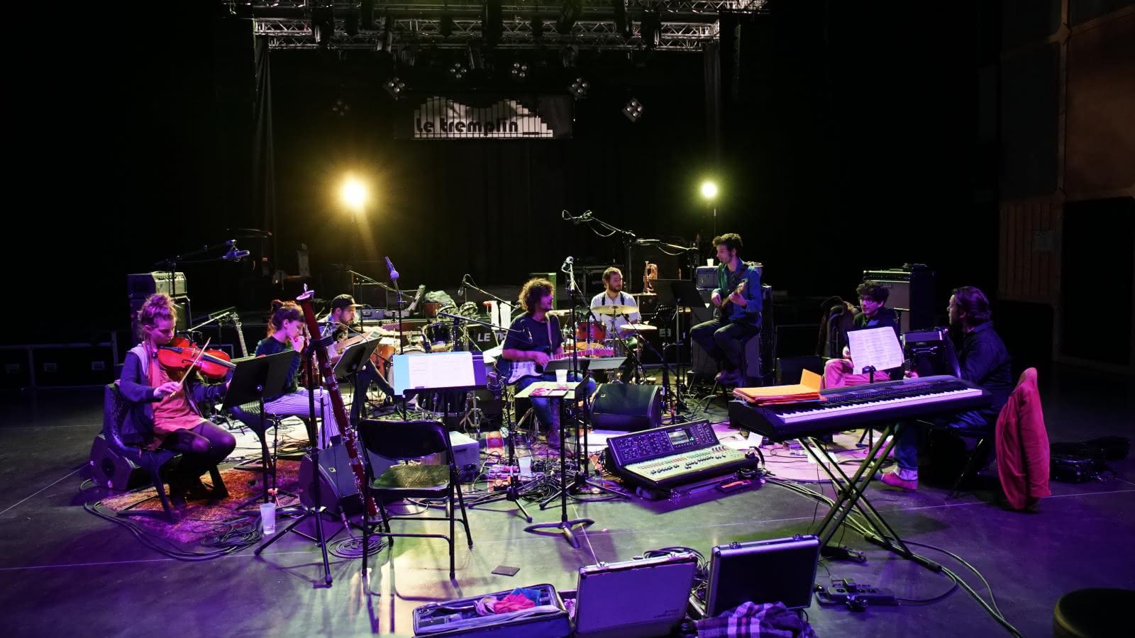 O'Brien en concert au Tremplin