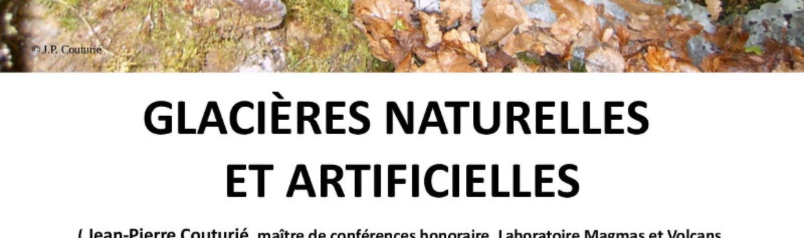 Conférence Glacières naturelles et artificielles