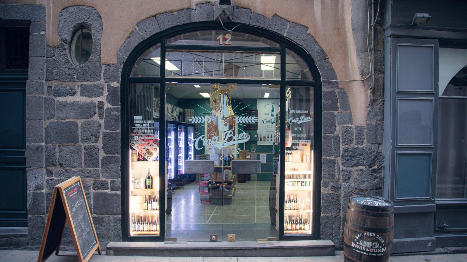 © Craft beer bottle shop