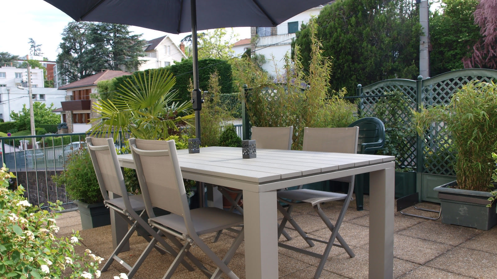 Résidence Danchaud : Terrasse