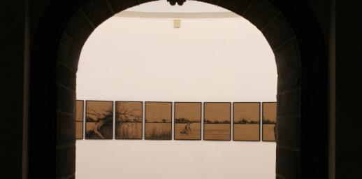 Exposition de Joël Andrianomearisoa au Musée d'art Roger-Quilliot