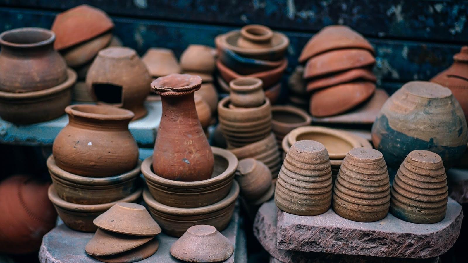© Centre Anatole-France : les potes d'argile