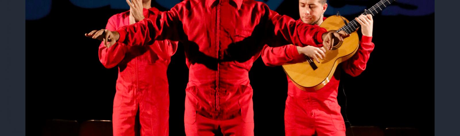 © La Coupole : Pensaor, un philosophe dans une cabaret flamenco.