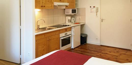 meublés Chalet Camille appartement 12 cuisine