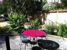 Location meublé Chalet Camille jardin