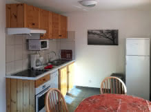 Location meublé Chalet Camillle appartement 24 cuisine