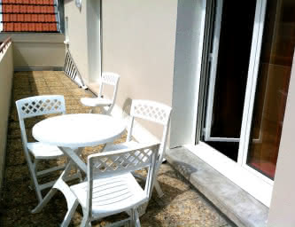 Location meublé Chalet Camillle appartement 24 balcon