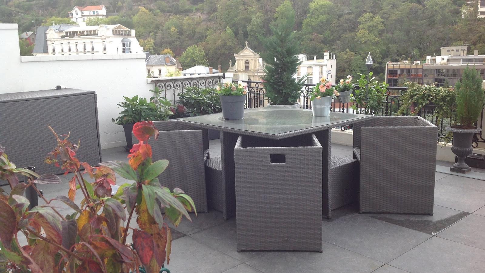 © Rés. Royat Palace - Ma terrasse