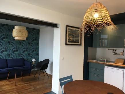 La maison de Vallières - L'appartement