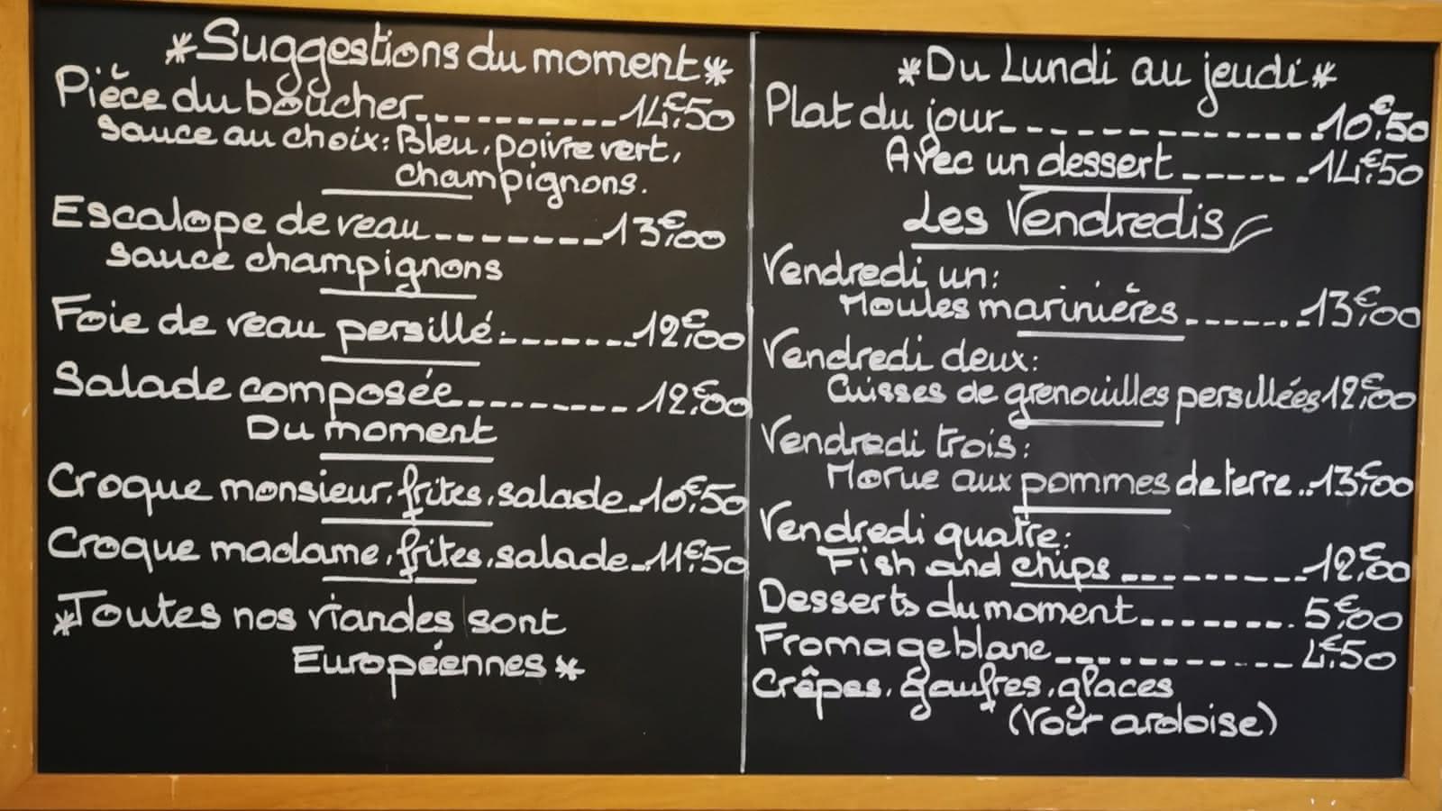 © Bar Brasserie La Lune