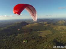 Aéroparapente Gleitschirmfliegen - Flüge zur Spitze von Puy de Dôme
