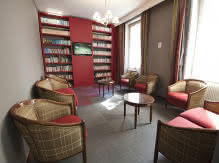 Bibliothèque - Hôtel Albert-Elisabeth