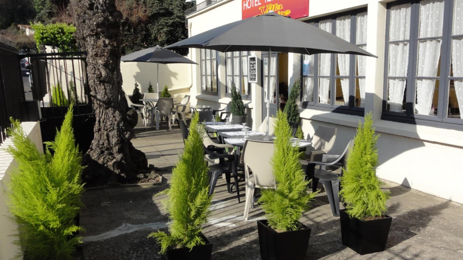 © Hôtel Restaurant Villa Romaine