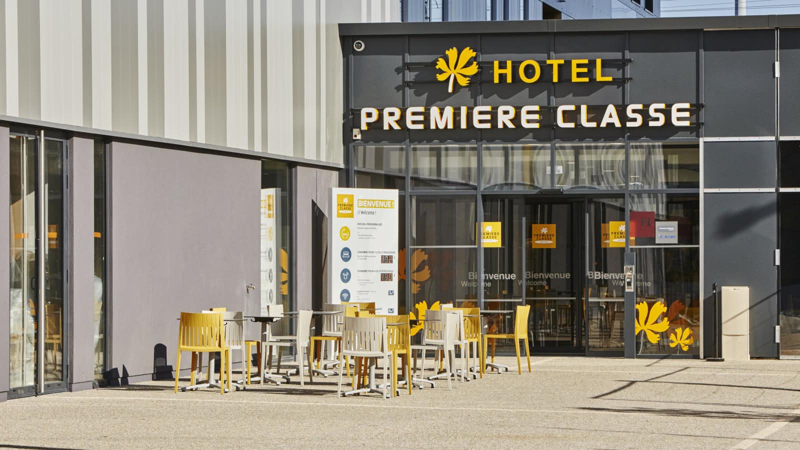 © Façade - Hôtel Première classe - Clermont-Fd Centre