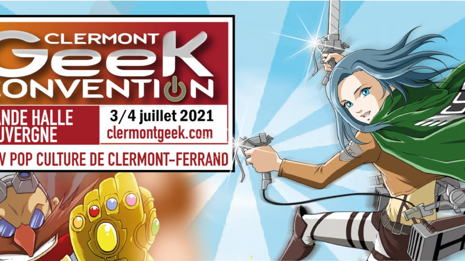 © Clermont Geek Convention