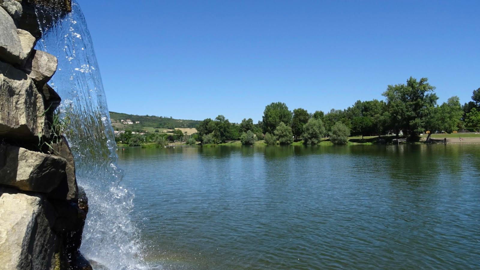 © Plan d'eau de Cournon - zone de loisirs