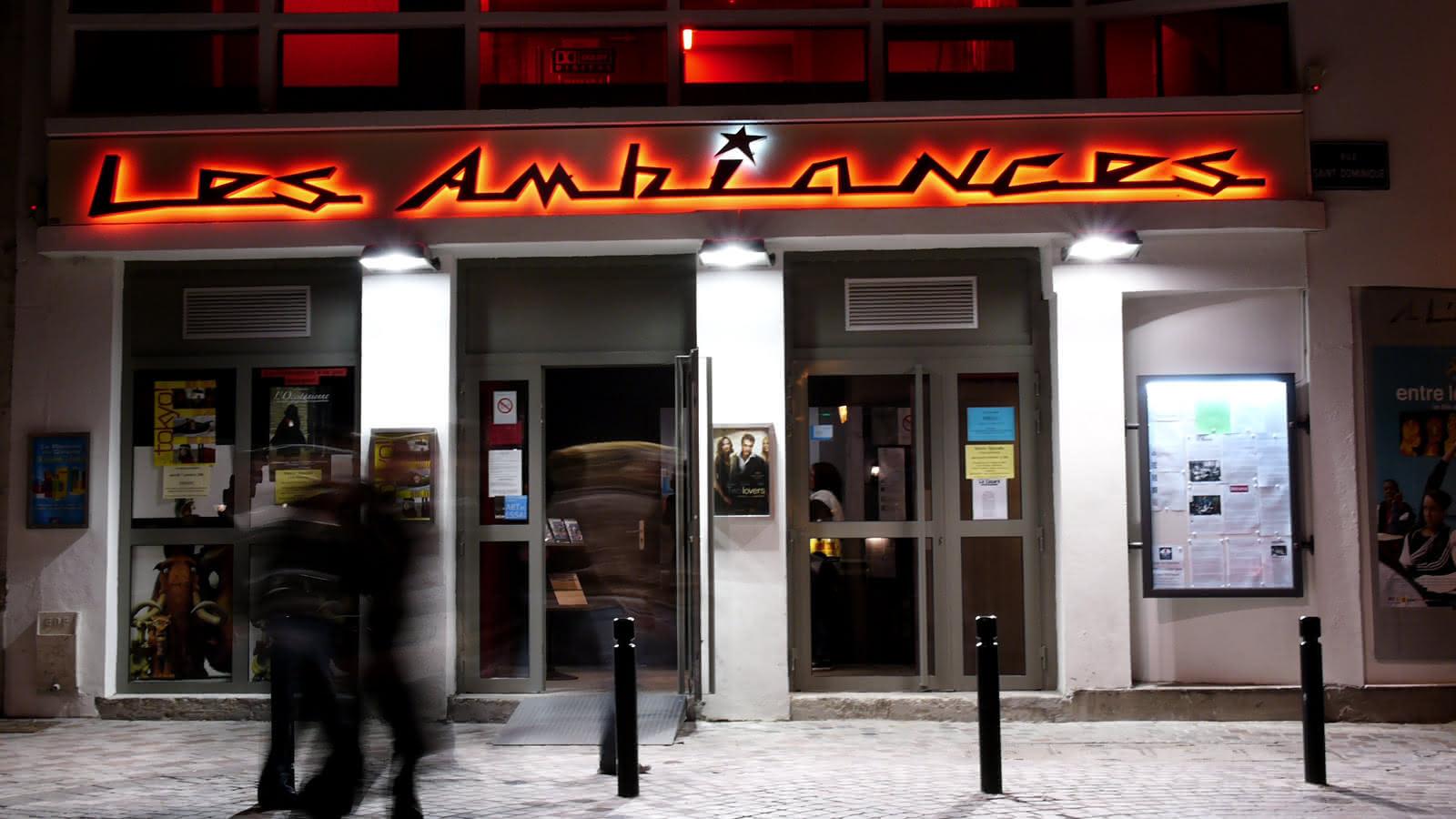 © Cinéma Les Ambiances, à Clermont