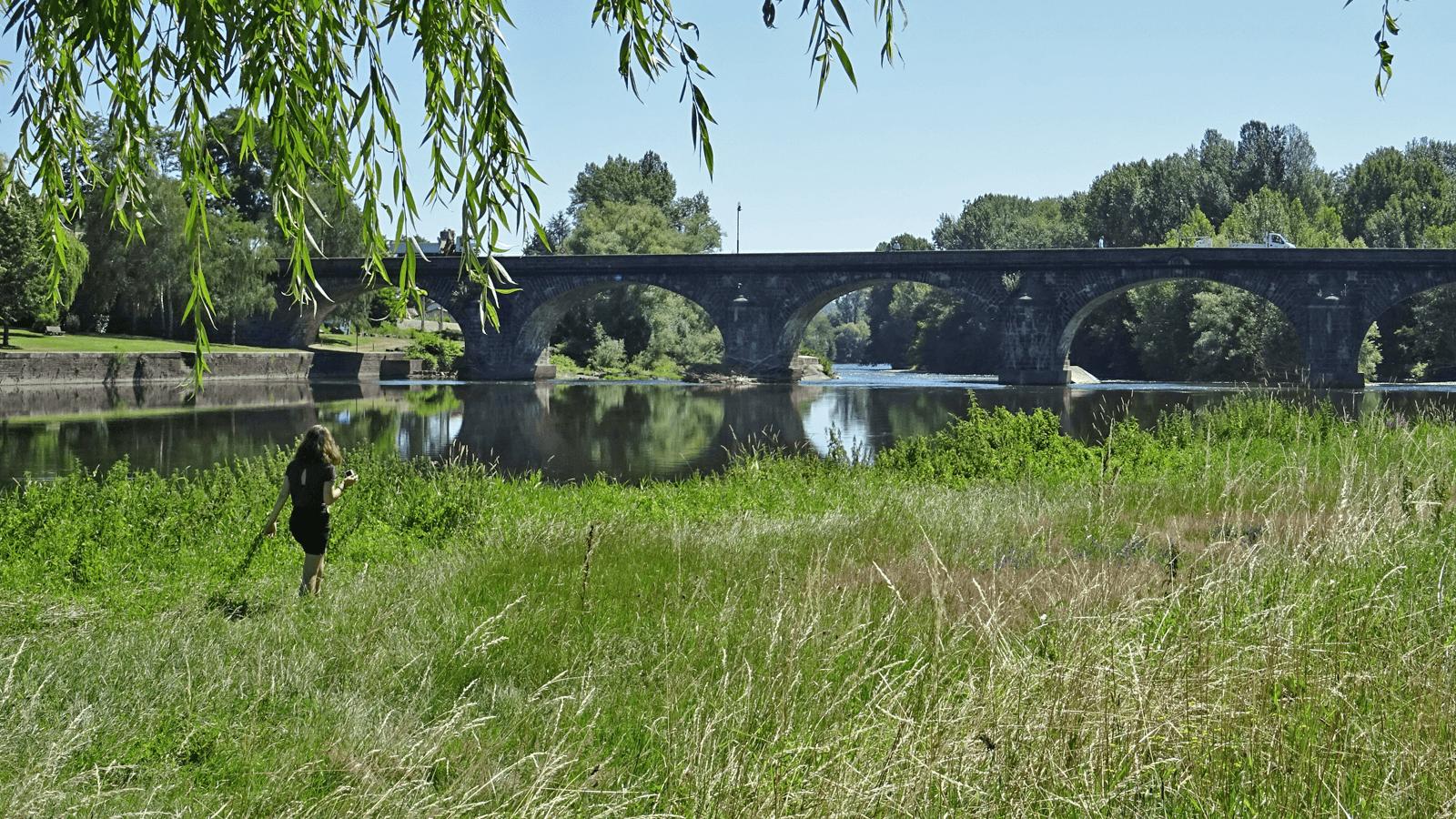 © Plage des Palisses à Pont-du-Château