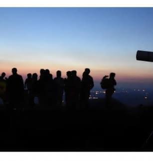 Observation des étoiles au sommet du puy de Dôme - Nuit des étoiles