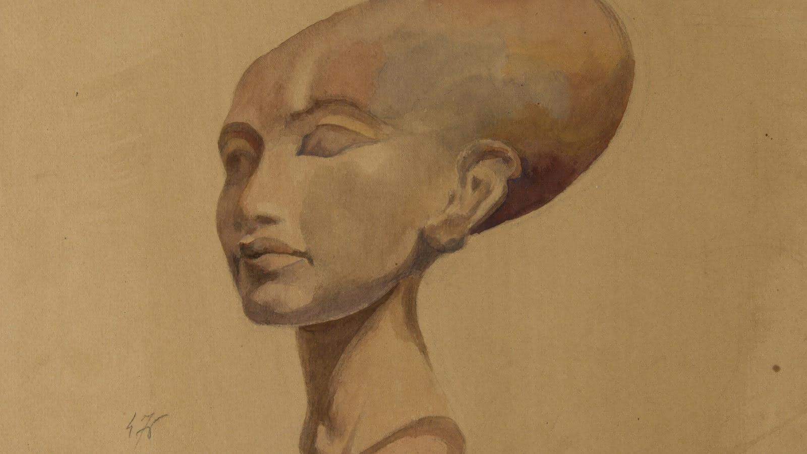 © Princesse amarnienne, fille du pharaon Akhenaton