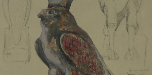 Horus en faucon