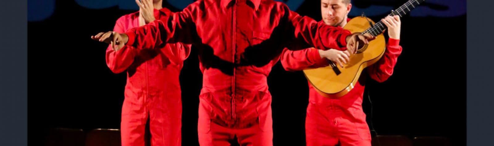 © Pensaor, un philosophe dans un cabaret flamenco